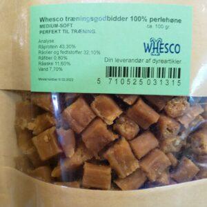 Whesco Træningsgodbidder 100% kød 100g