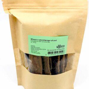 Whesco Naturstænger af 100% andekød 120 g