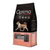 Optima Nova Adult Mini Sensitive. Kornfrit premium hundemad med laks til små hunde. For sund hud og skinnende pels