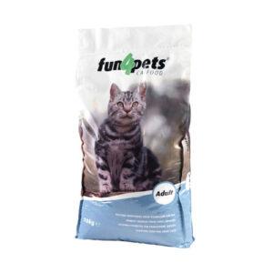Fun4pets Cat Adult – Kattemad 10 kg