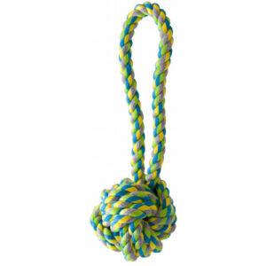 KW Multifarvet bomuldsreb med bold – 20 cm