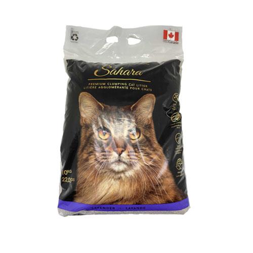 Sahara klumpende kattesand / kattegrus af højeste kvalitet. Canadisk kattesand fremstillet i Canada