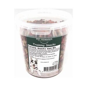 Whesco Kornfri snacks Mix – i bøtte med 500 g