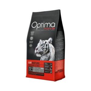 Optima Nova Mature – til senior katte 8kg