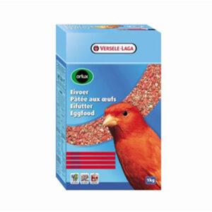Orlux æggefoder til kanarier, rødt – 1 kg