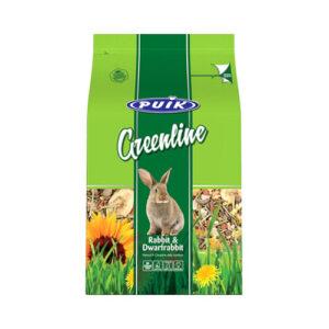 PUIK Greenline Kanin og Dværgkanin 1,5 kg