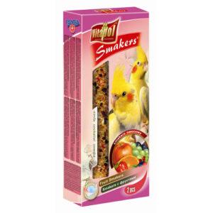 Smakers til Parakitter – frugt 2 stk