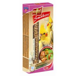Smakers til Parakitter – nødder, 2 stk