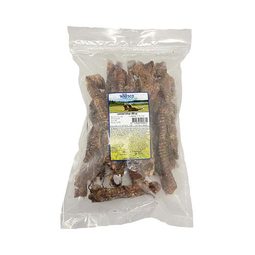 Whesco lammeluftrør. naturlige tyggetin / snacks til hunde og hvalpe