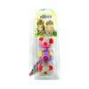 Whesco legetøjsmus omviklet med farvestrålende reb. 3 stk mus i display