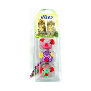 Whesco legetøjsmus 3 stk