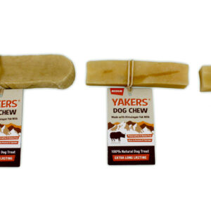 YAKERS – Holdbare tyggesnacks af Yakmælk str Medium