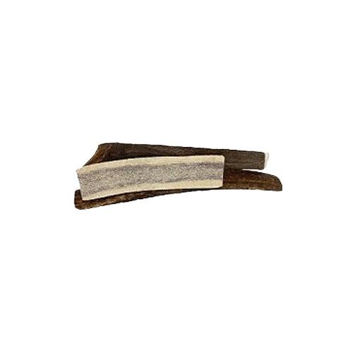 Naturligt tyggeben. Antler gevir halvt str medium. Lækkert naturligt tyggeben. velegnet til hvalpe og ældre senior hunde