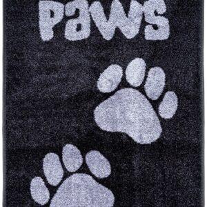 Måtte Big Paws – Sort 57 x 100 cm