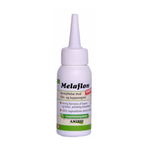 Melaflon 50 ml. Naturligt middel mod flåter og lopper. loppekur