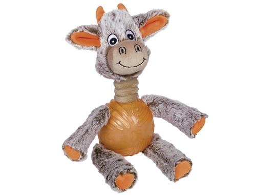 Nobby Plysko - Kvalitets hundelegetøj med plys og en bold af tpr gummi. Også egnet som hvalpelegetøj.
