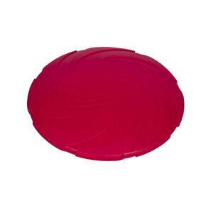 Nobby Gummi Frisbee Medium, Rød 18 cm