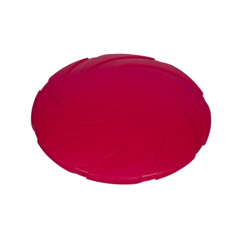 Nobby gummi-frisbee. Holdbar frisbee i naturgummi. Lækkert hundelegetøj i giftfrit rågummi. Flyver godt.