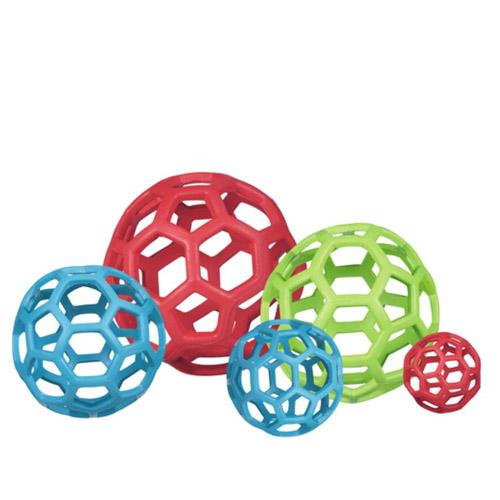 JW Hol-ee Roller netbold af naturgummi. Legetøj til hunde og hvalpe. 5 størrelser