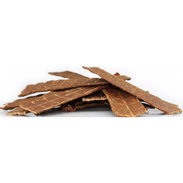 Tørrede hestestænger flade / tørrede heste sticks. 125 g. Naturlig snack fra Whesco Nature