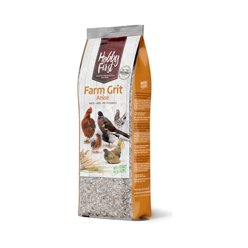 Hobby First Farm Grit Anise 2,5 kg. Hønseskaller og grit til alle fjerkræ