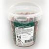 Pet Rewards mini snack mix- bløde træningsgodbidder med mini kødben fra Whesco. I spand med 500g