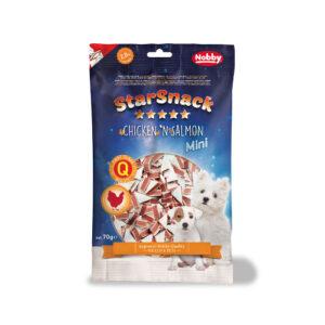 STARSNACK Mini Soft Chicken & Salmon 70 g