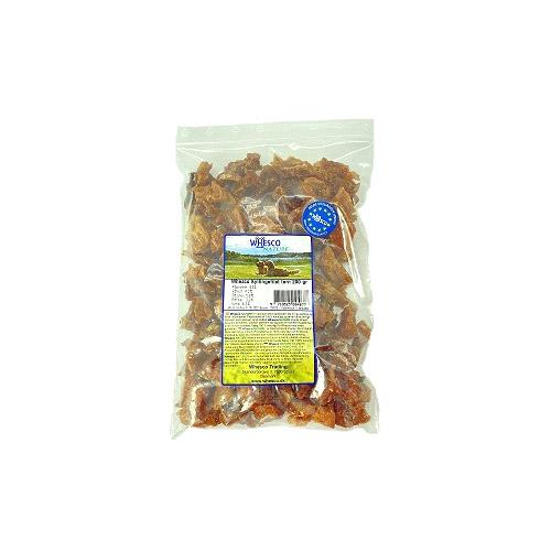 Whesco kyllingefilet i tern. Lækre naturlige hundegodbidder med 100 5 ren kyllingekød. til hunde og hvalpe