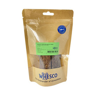 Whesco naturstænger rådyr 120 g.